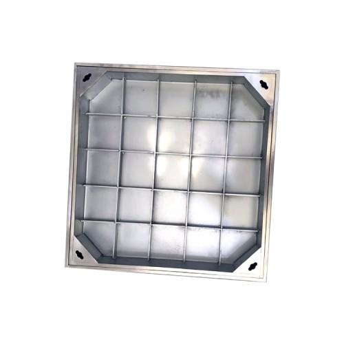 定制不锈钢井盖304 方形圆形下沉式隐形装饰井盖排水沟盖板阴
