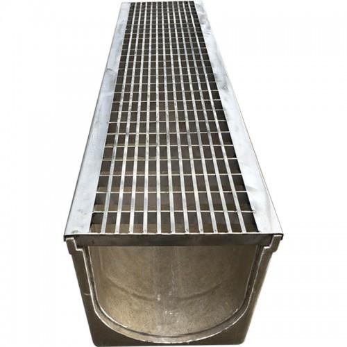 排水沟不锈钢格栅盖板SMC树脂地沟u型槽格栅可定制