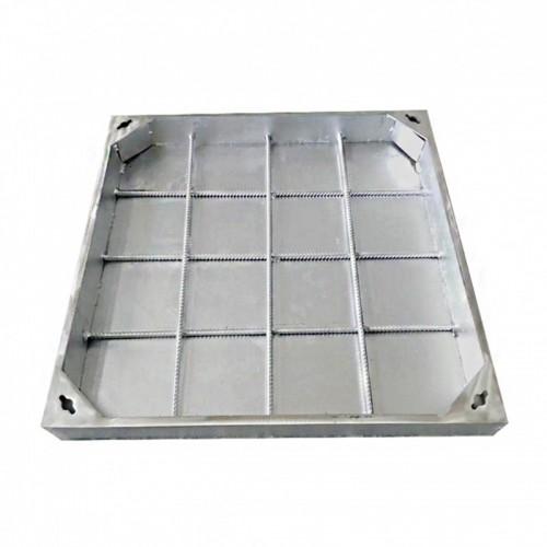 304不锈钢窨井盖格栅盖板来图定制不锈钢井盖隐形下沉式方圆形