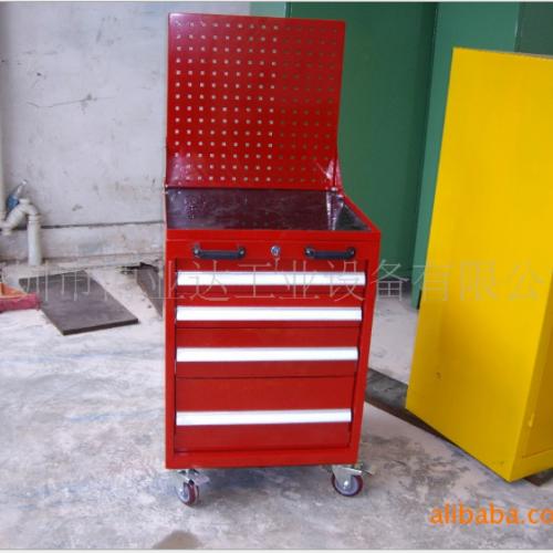 供应带挂板移动工具车,重型工具车
