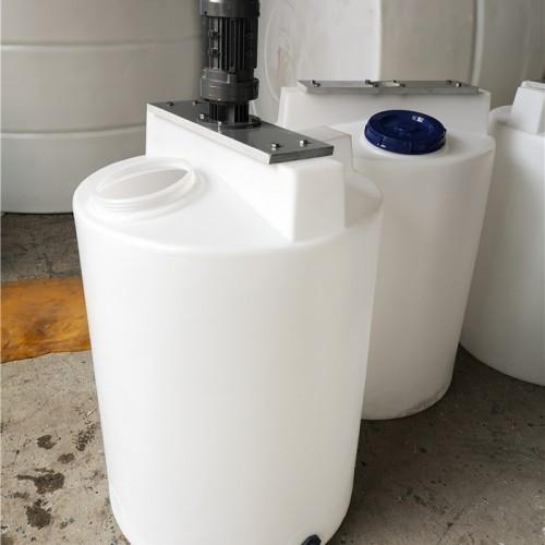 加药桶搅拌机生产厂家 环保水处理pe加药箱搅拌桶