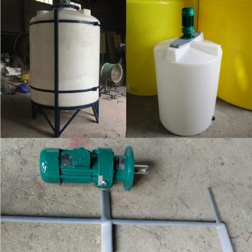 化工搅拌器选型 液体搅拌机功率 防腐调和配解罐生产厂家