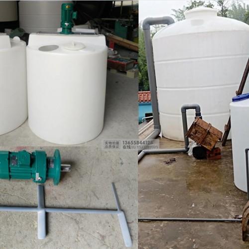 酸性化工搅拌罐厂家 PE塑料搅拌桶规格 原料配解反应釜