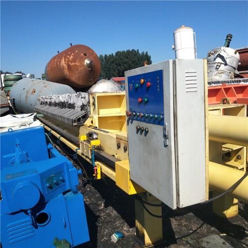 长期回收环保压滤机二手 全自动板框压滤机 压滤机多少钱