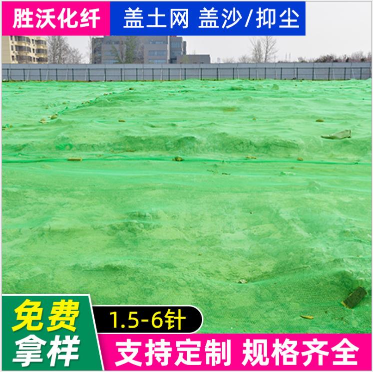 定制扁丝盖土网工地工程防尘网聚乙烯覆盖网6针绿色盖土网盖煤网