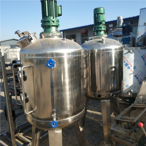 转让二手三层玻璃反应釜 二手树脂反应釜厂家 反应釜图片