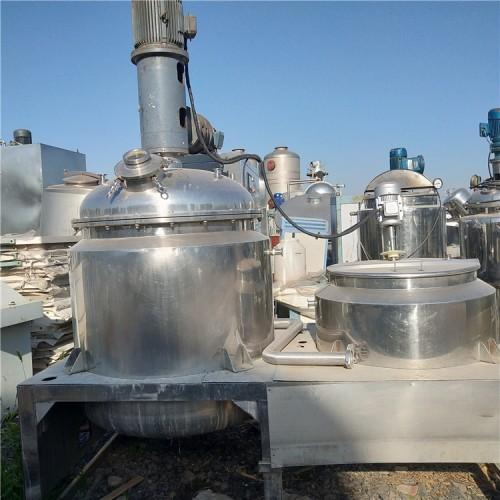 出售高压反应釜二手 不锈钢电加热反应釜二手 反应釜价格