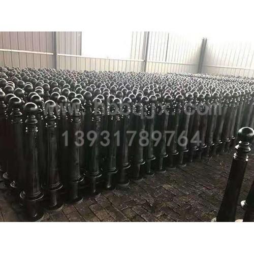 天津铸铁警示柱订做泊泉机械/订做/供应铸铁警示柱