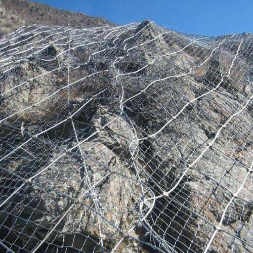 边坡防护网   嘉格网业