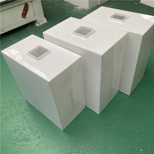 PP塑料板水箱 定做方形塑料焊接水桶 售水机净水机水罐