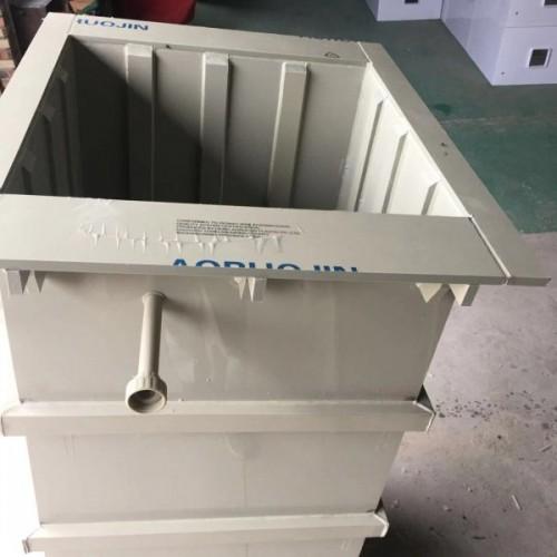 加厚表面处理塑料槽定做 污水处理槽 pe焊接槽