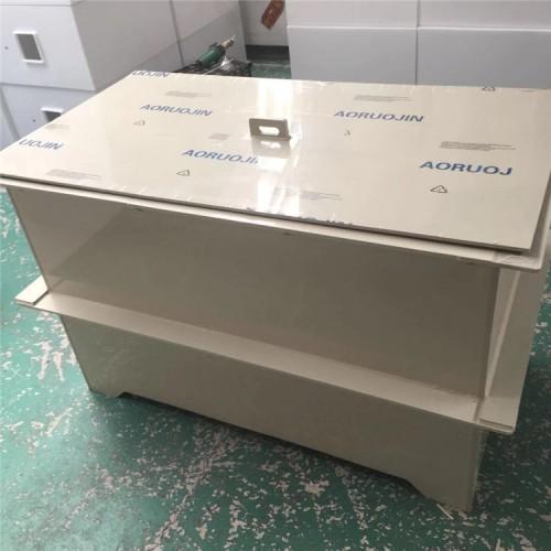 PP氧化槽 聚丙烯酸碱槽 表面处理容器 pp塑料板焊接加工