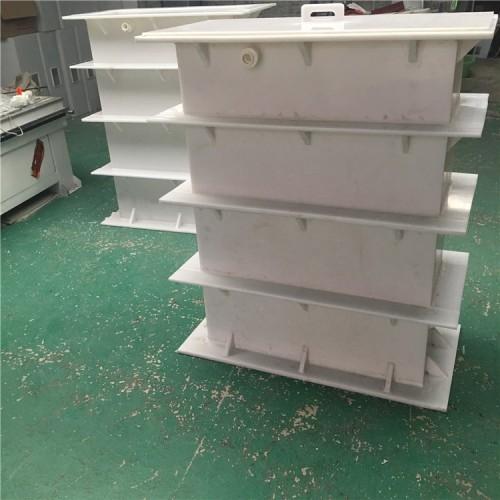 厂家加工定做聚丙烯PP氧化池 酸碱槽  电镀钝化清洗设备