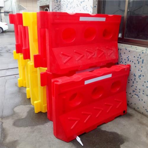 苏州塑料水马隔离墩 昆山安保围栏 反光防撞桶厂家直销
