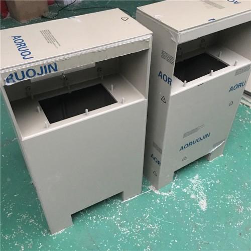 厂家加工定做聚丙烯PP塑料药箱 防腐容器 塑料机箱外壳耐酸碱
