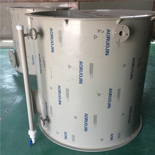 厂家加工卷圆聚丙烯PP塑料容器 酸碱 药液耐腐蚀搅拌罐定做