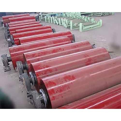 甘肃输送机托辊组生产厂家|众兴煤机配件|厂家订做矿用托辊