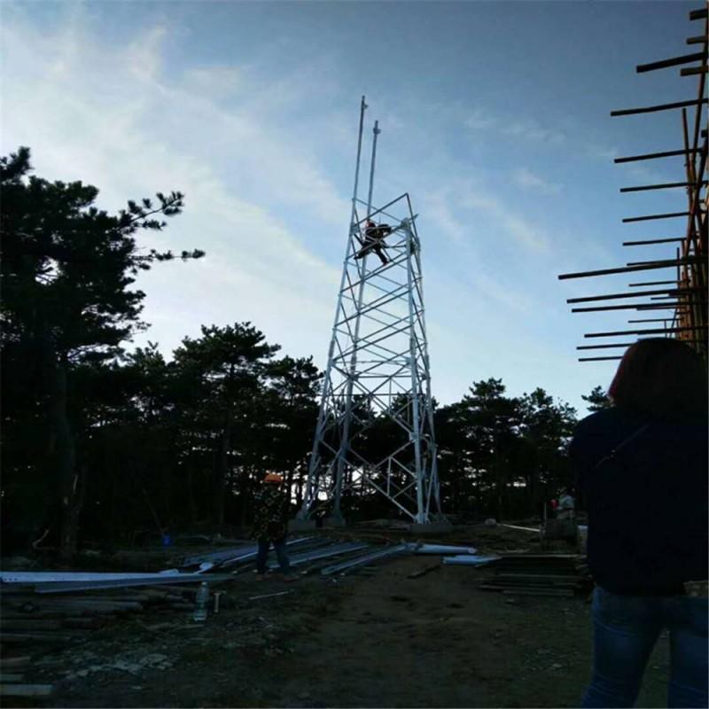 雷达站避雷塔、避雷针厂家、避雷塔厂家找河北林东