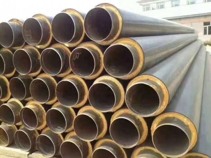 集中供热用塑套钢聚氨酯发泡保温螺旋钢管厂家价格合理