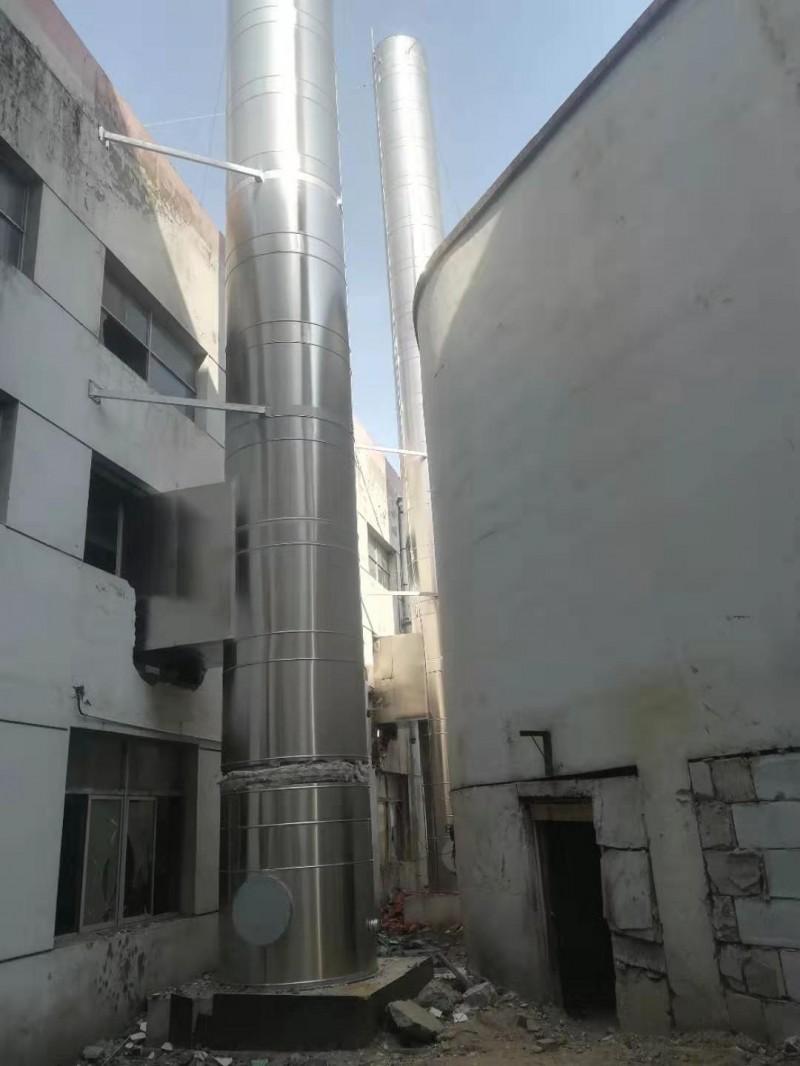衡水一家生产不锈钢烟囱厂家