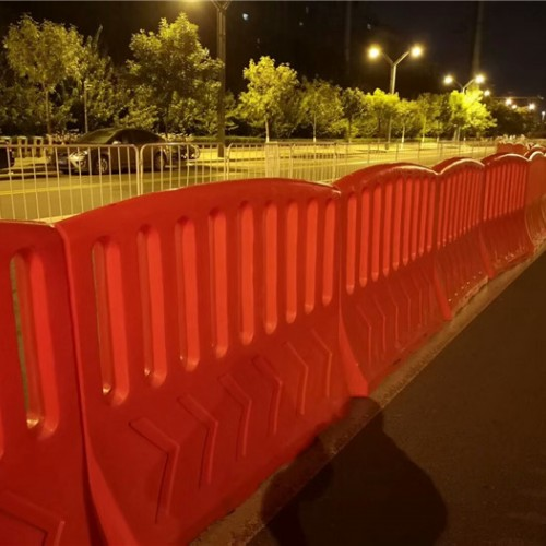 医院应急临时隔离封闭围栏 隔离防护栏水马围档款式多样