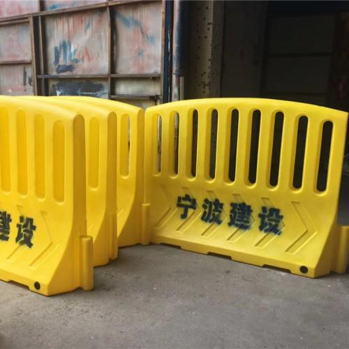 宁波地铁施工隔离栏 宁波建设集团警示防护栏 市政水马围档