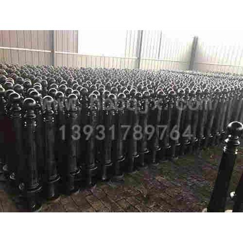 甘肃铸铁警示柱制造河北泊泉机械制造~订做~供应铸铁警示柱