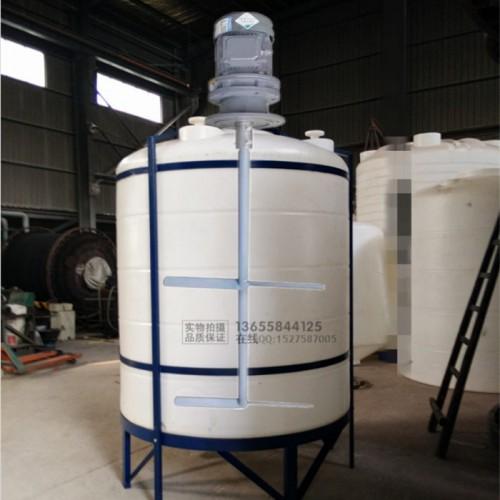 顶入式搅拌器厂家 顶入式化工搅拌装置 PE配解调和设备