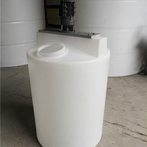 溶解搅拌桶 PE塑料搅拌罐耐酸碱性能强 化工搅拌机设备