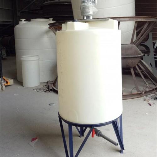 化工反应搅拌罐厂家直供 耐酸碱调和搅拌机设备 PE塑料桶