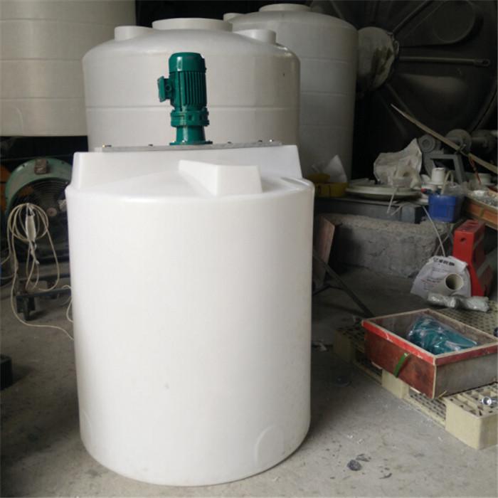 化工生产搅拌罐1000L厂家 1吨化学品加工溶解搅拌机设备