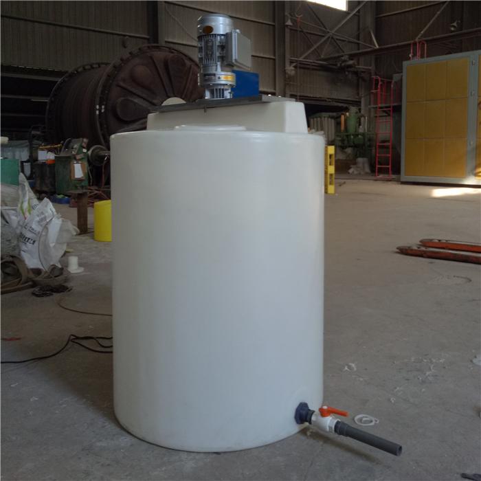 塑料搅拌桶100L/200公斤/500L防腐PE搅拌罐设备
