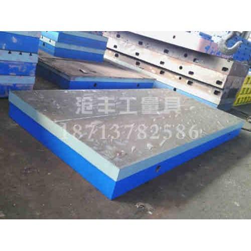 内蒙古铸铁T型槽平板加工沧丰量具-来图加工-供应铸铁平板