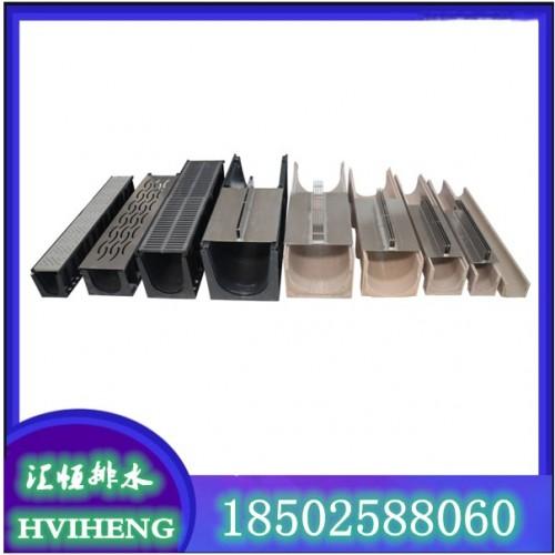 成品排水沟 不锈钢线性盖板 树脂排水沟 不锈钢井盖