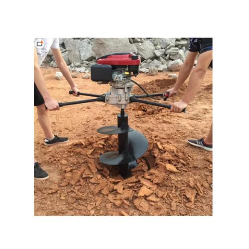 河池苗圃种植挖坑机 恒泰公路护栏篱笆埋桩机 支架立柱埋桩机