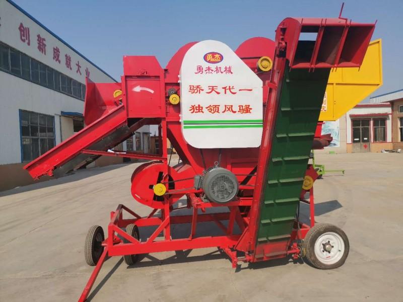 花生摘果机价格 花生摘果机厂家 自动上料花生摘果机