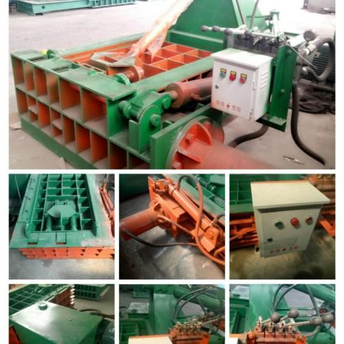 卧式废金属压块机厂家供应 价格实惠的铝屑压块机厂家
