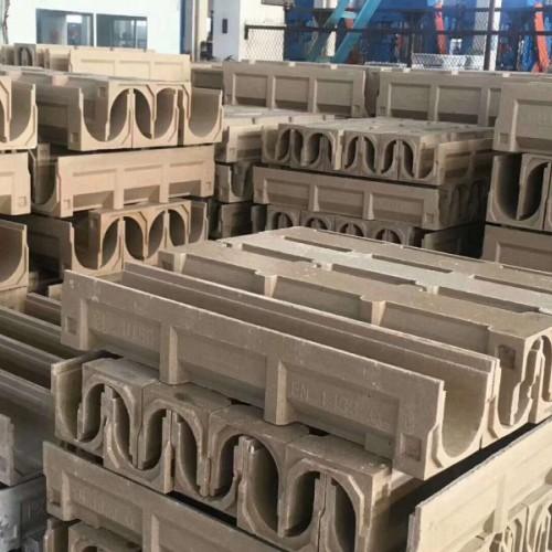 塑料沟 pe沟 hdpe排水沟 树脂排水沟 不锈钢缝隙盖板