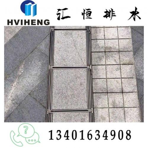 不锈钢盖板 线性排水沟 景观排水 不锈钢井盖 成品排水沟