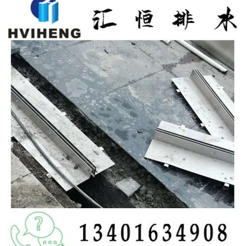 缝隙排水沟 不锈钢缝隙盖板 缝隙盖板 线性盖板不锈钢井盖