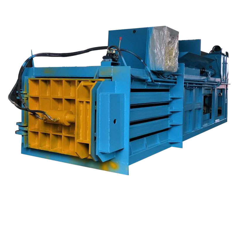 液压160吨位卧式打包机械