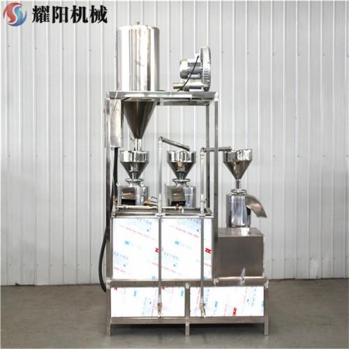 三联磨浆机组 不锈钢磨浆机