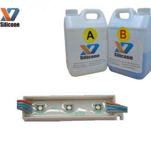 绝缘防水电子灌封胶 透明软硅胶