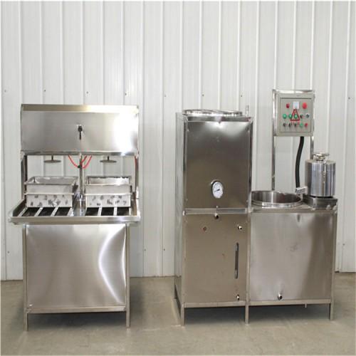 全自动豆腐机视频 豆腐机价格 生产豆腐的设备