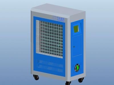 飞度电磁 电磁加热热风炉30-60KW生产厂家