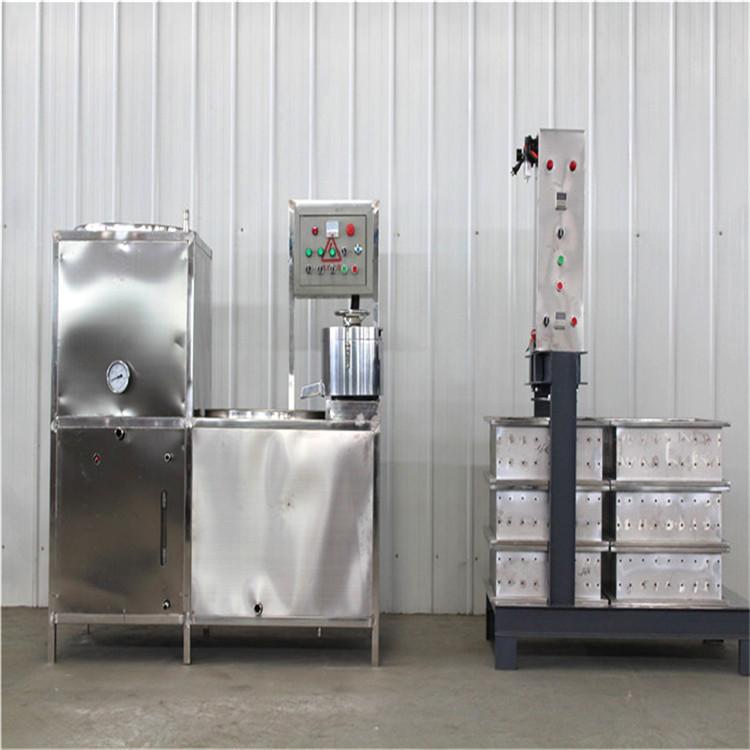 陕西豆腐干机价格 豆腐干机图片 豆腐干机生产视频