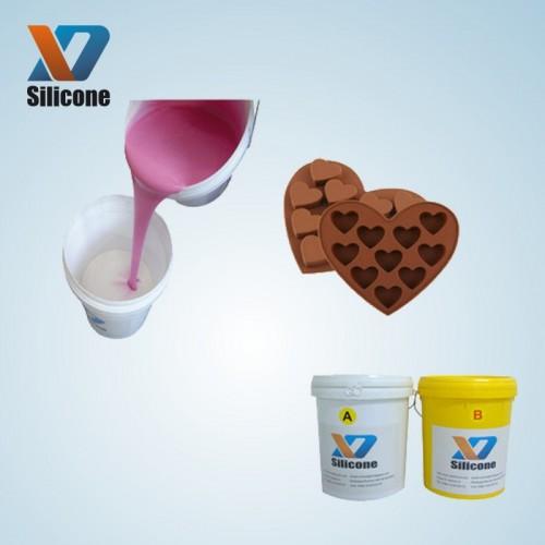液体硅胶 巧克力模具硅胶 半透明耐高温 1:1硅胶翻模