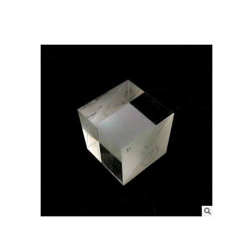 镀膜光学镜片 消偏振分光光学棱镜 NPBS分光棱镜厂家可定制