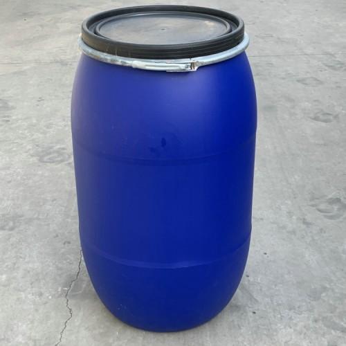 125升塑料桶 大口125L塑料桶 125公斤蓝色塑胶桶供应