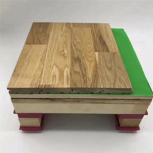 运动实木地板枫桦木地板厂家直营全国安装